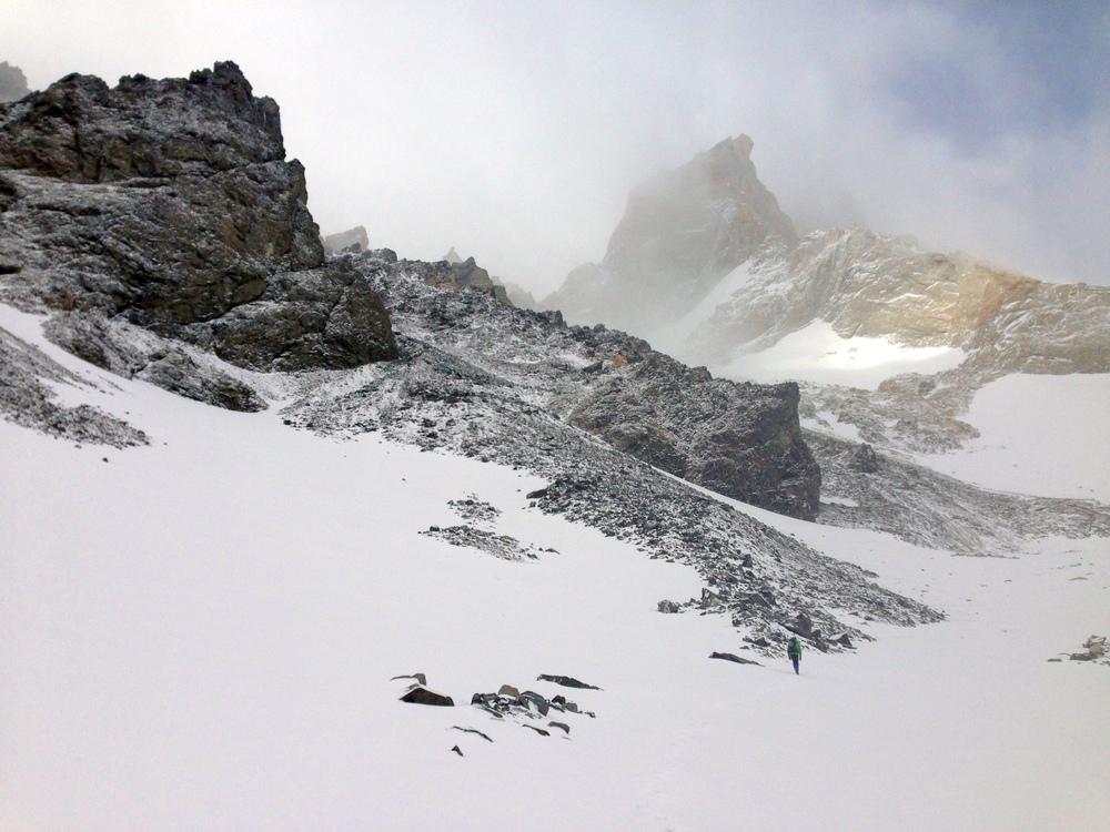 Snow Beneath Guillaumet