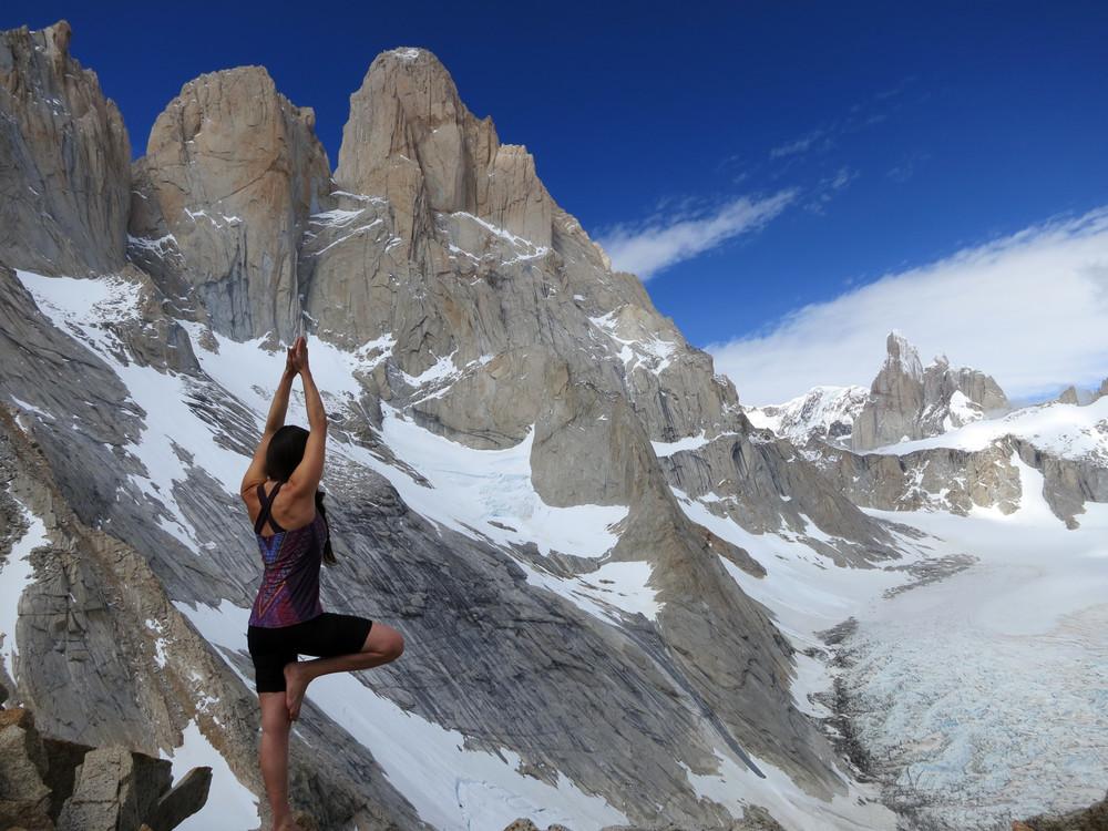 Yoga on Cuadrado Pass
