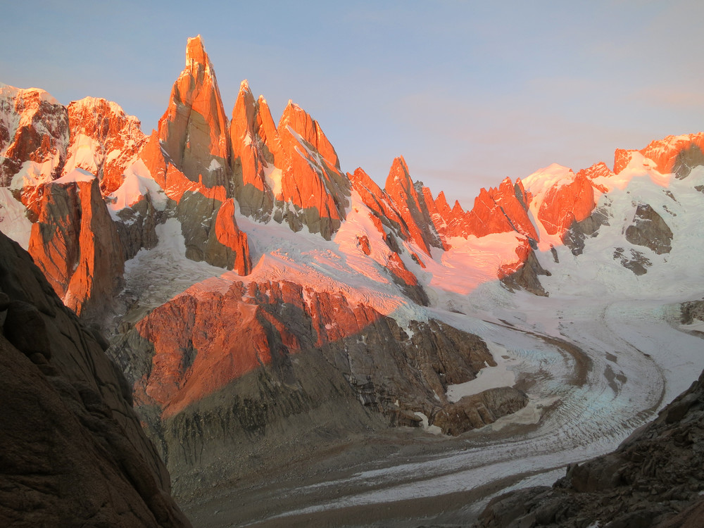 Sunrise from Alpine Ramp