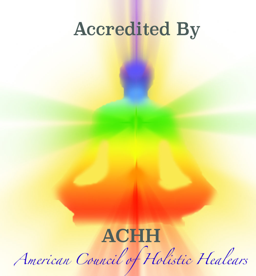 Accredited By American Council of Holistic Healers