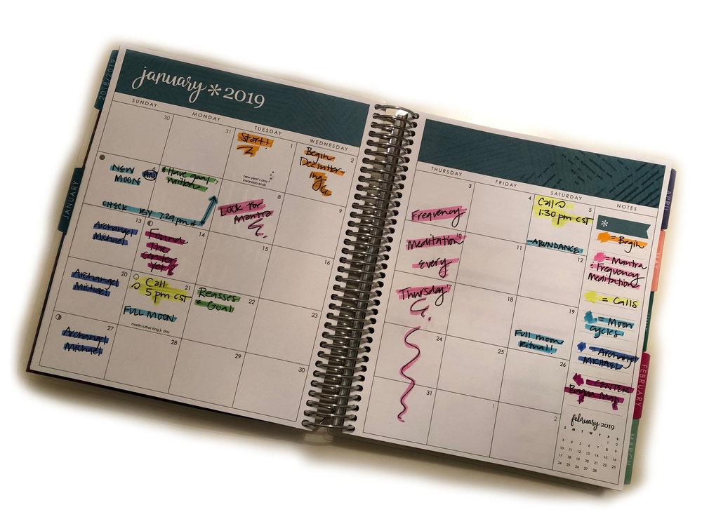 Suggested Calendar