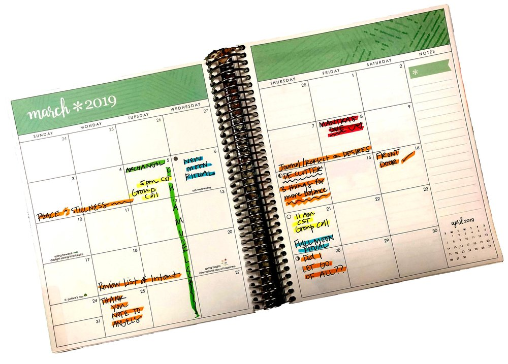 RYEE® CALENDAR FOR MARCH!