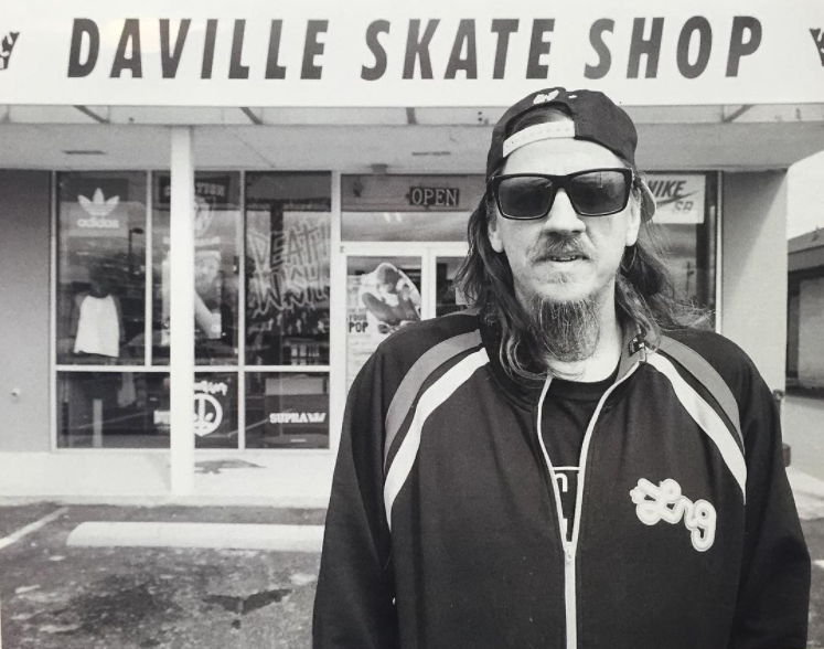 Terry in front of Daville in Fayetteville NC