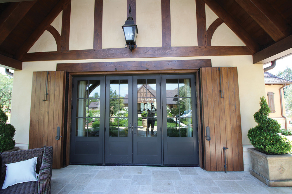 HEALDSBURG, CALIFORNIA WINERY: DOOR SYSTEM