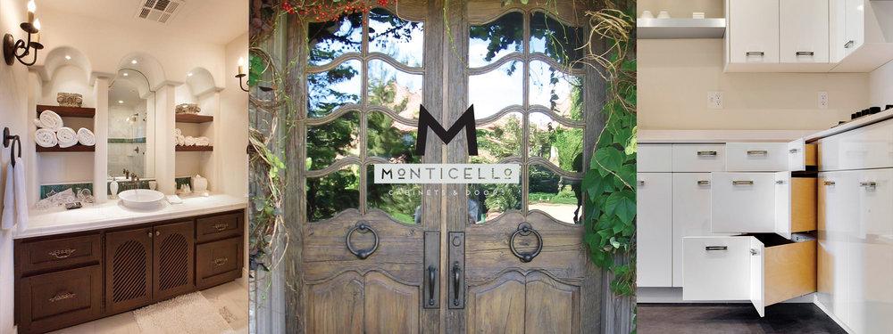 Homepage_Hero_D. Monticello. Cabinets U0026 Doors