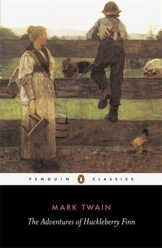 THE ADVENTURES OF HUCKLEBERRY FINN - By: Mark Twain