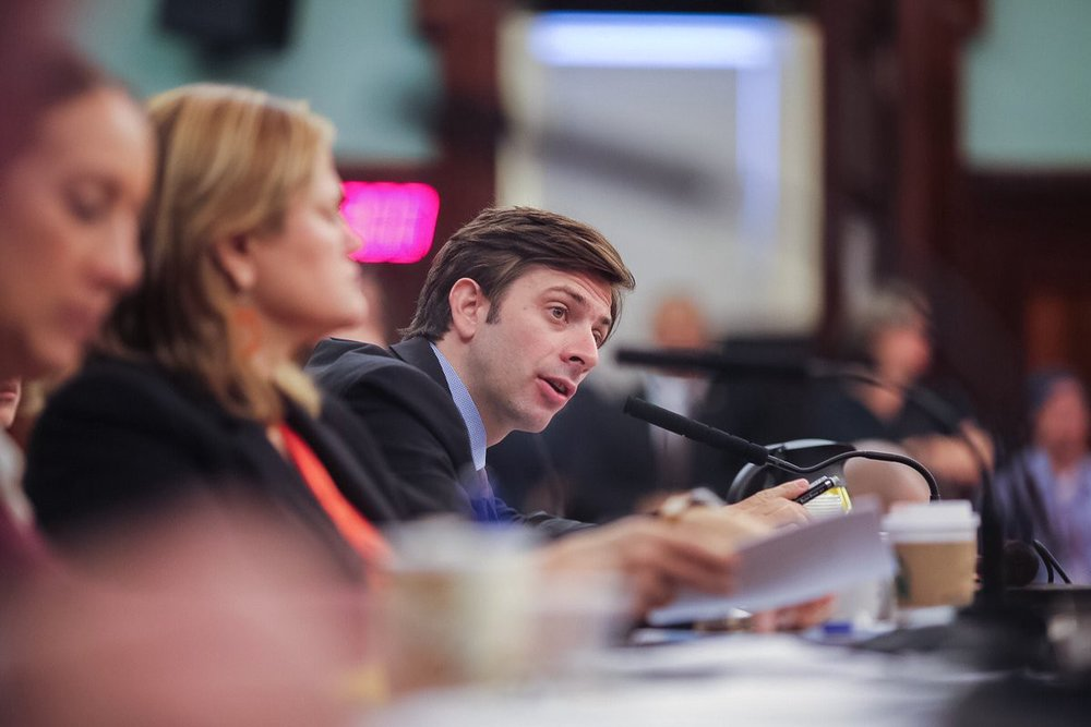 Stephen Levin is a New York City Council Member and Chair of the General Welfare Committee. Photo Credit: NYC Council