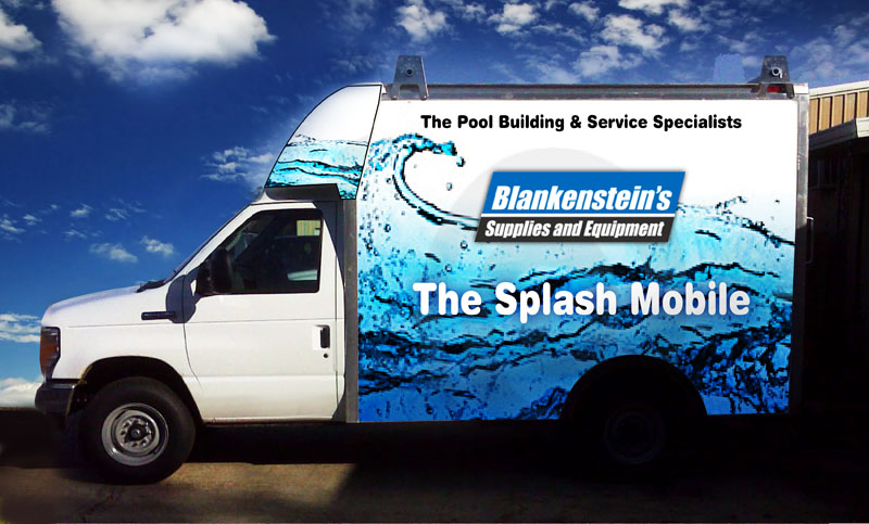 Blankenstein's Pool Specialists - Imaginary Company
