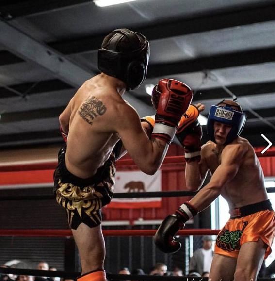 Elias Anderson at Kickboxing Tournament, Stockton, CA 2016