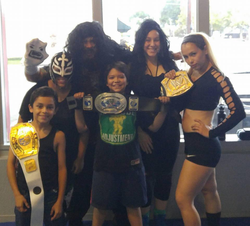 WWE Halloween at IQ Gym