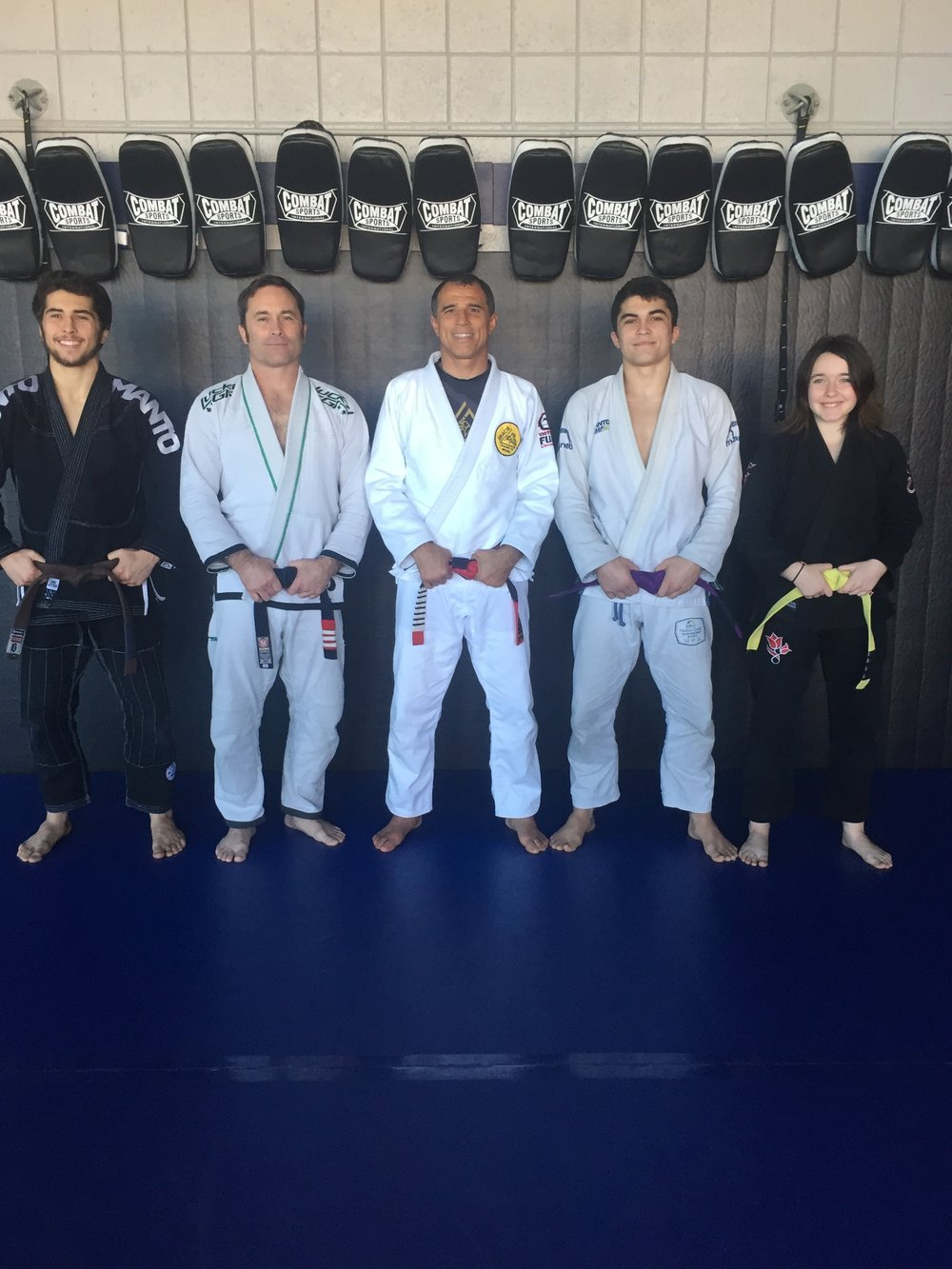 Royler Gracie and the Anderson Family