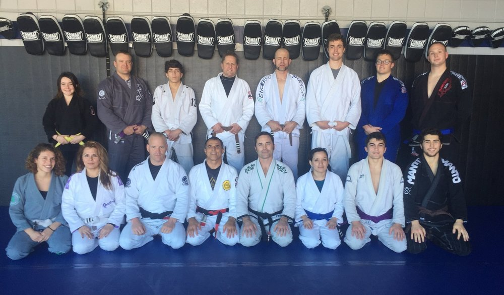 BJJ with Royler Gracie and Lowell Anderson