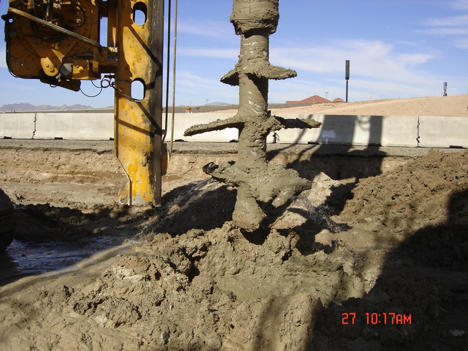 I10/Ft. Grant Traffic Interchange-Deep Soil Mixing
