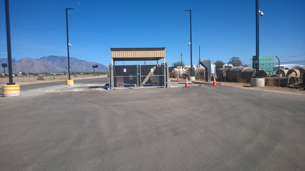 Walker Road Septage Receiving Station Construction