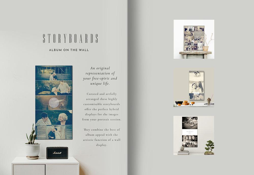 Lookbook 2019 - Storyboards
