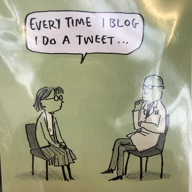 For all my social media whizz friends...#cardshopping #laughs @southwoodstores @hjanceski