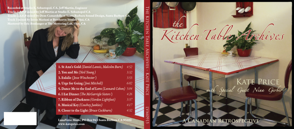 the Kitchen Table Archives by Kate Price