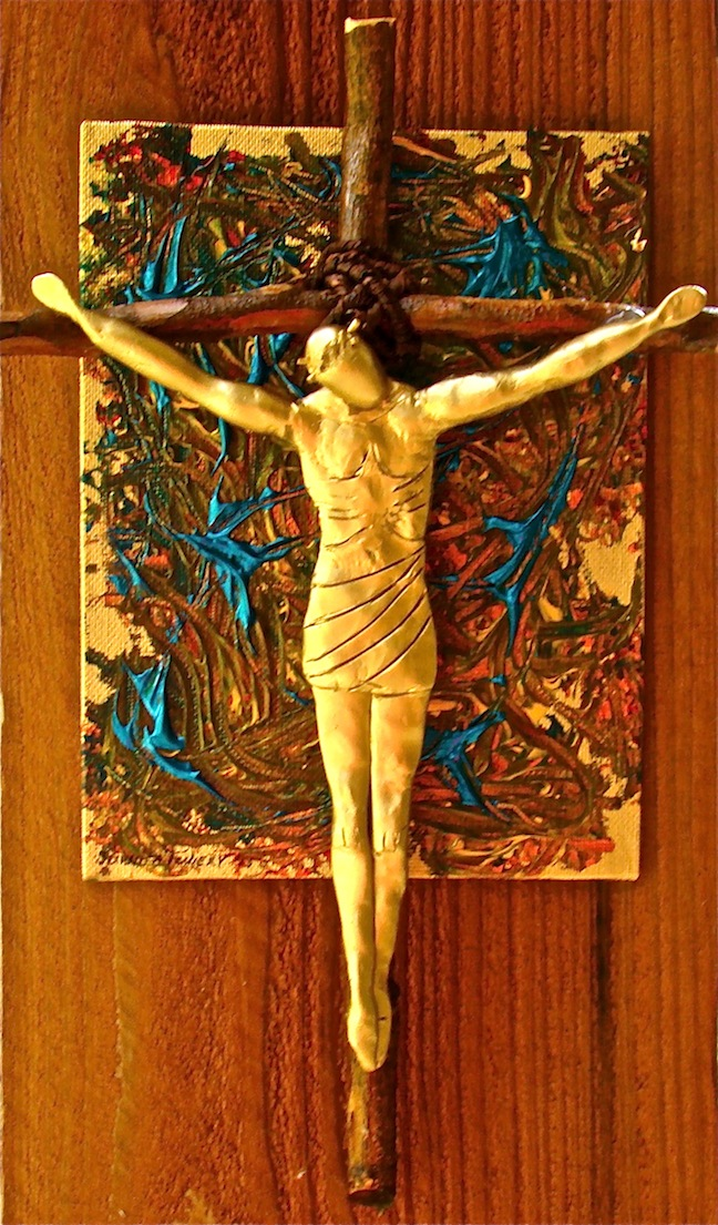 Crucifixion Sculpture
