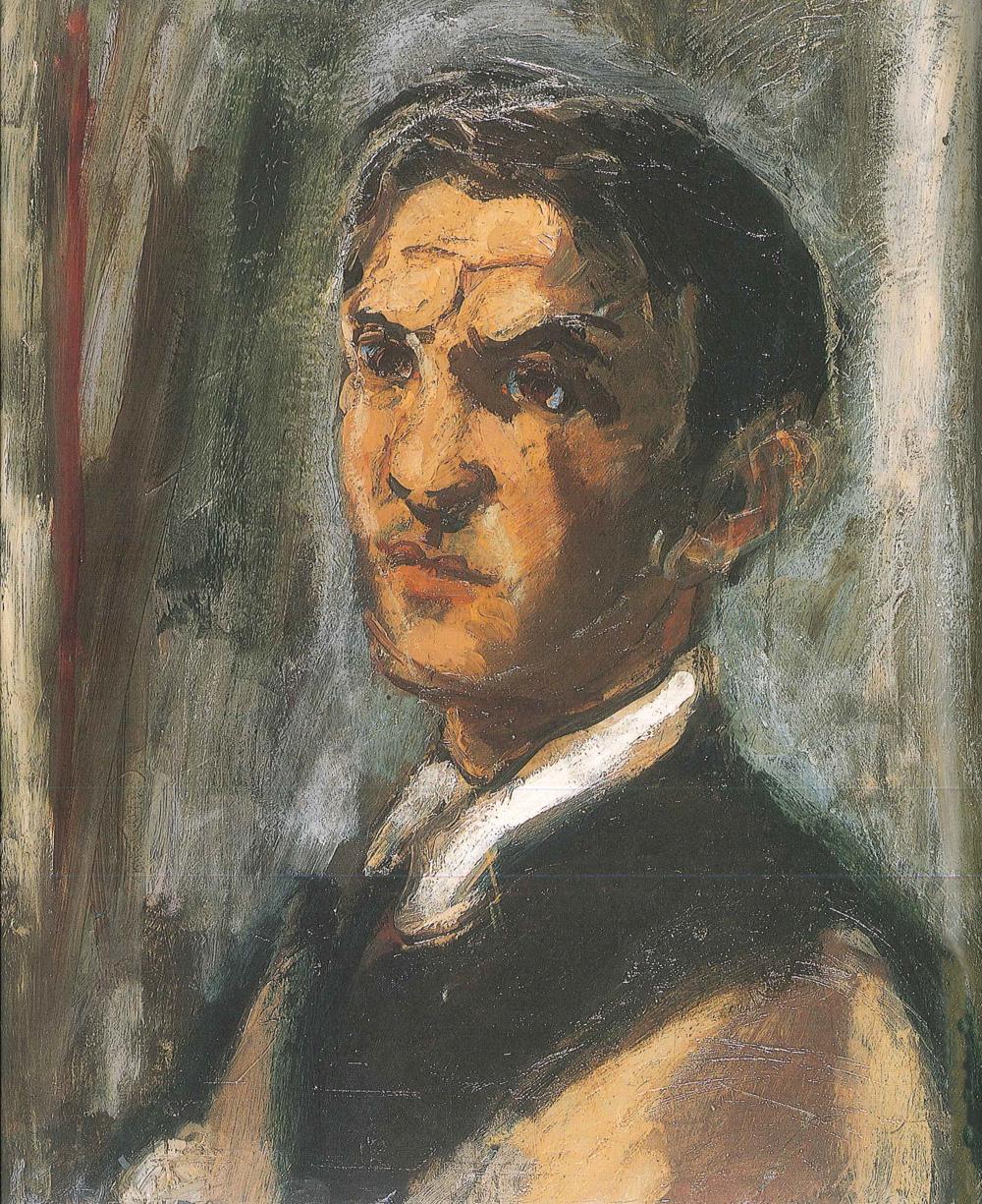 Self-Portrait. 1926. Oil.