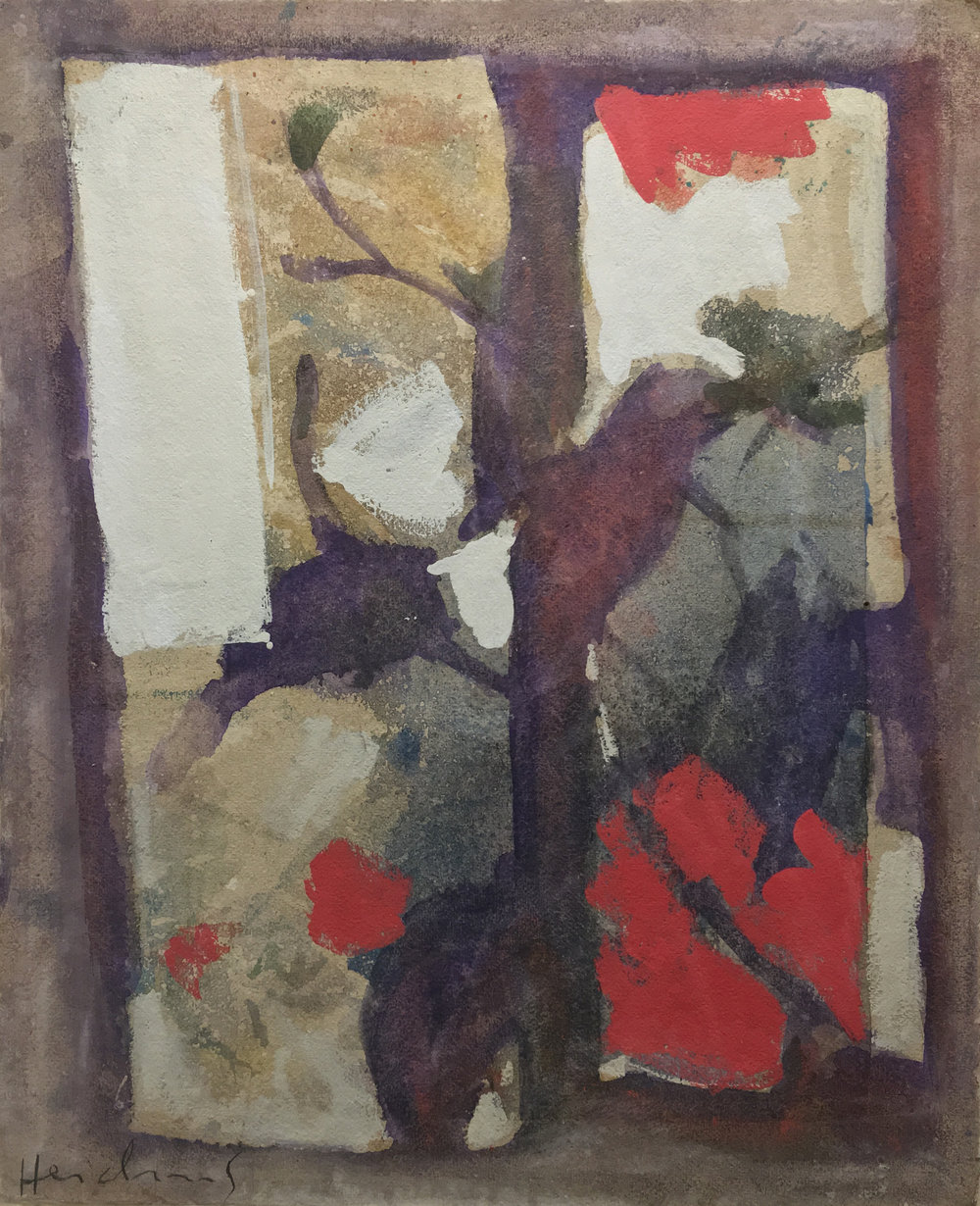 CARL HEIDENREICH,  UNTITLED , N.D. OIL ON CANVAS. 40 X 33.75 INCHES. COLLECTION OF THE CARL HEIDENREICH FOUNDATION.