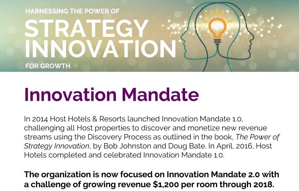 HostInnovationMandate