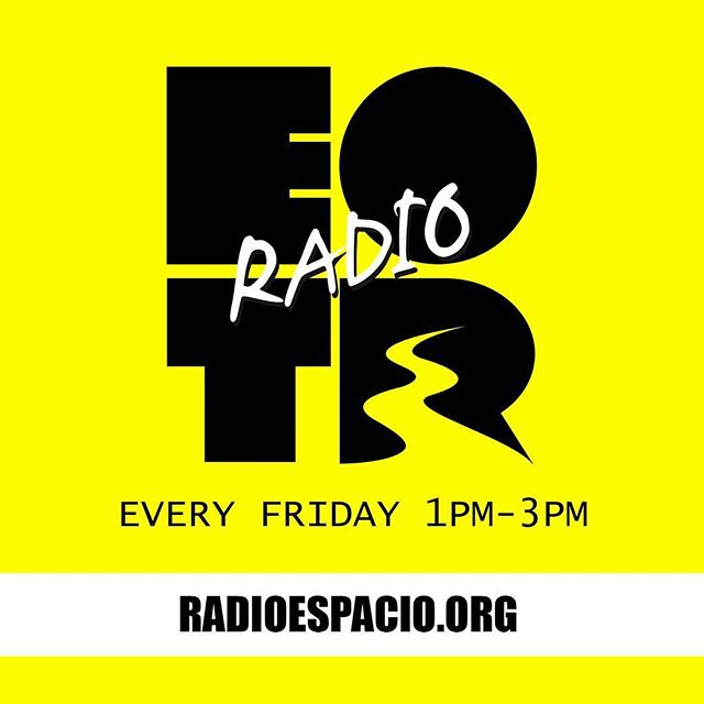 We on right now! @radio_espacio_  #EOTRRadio