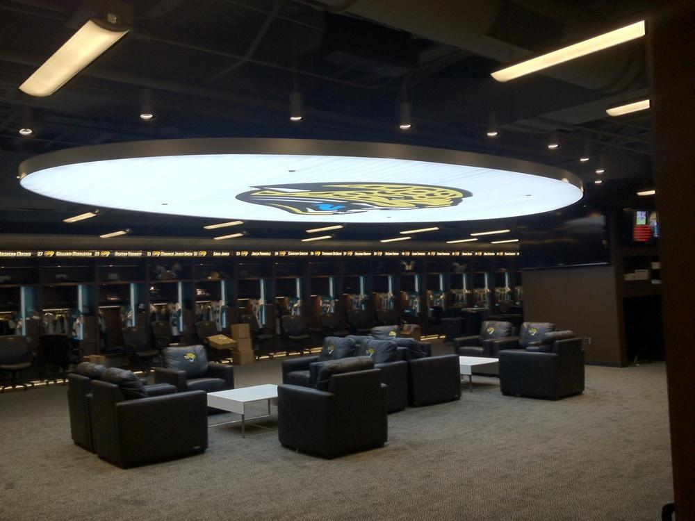 Jacksonville Jaguars Locker Room (Jacksonville, FL)