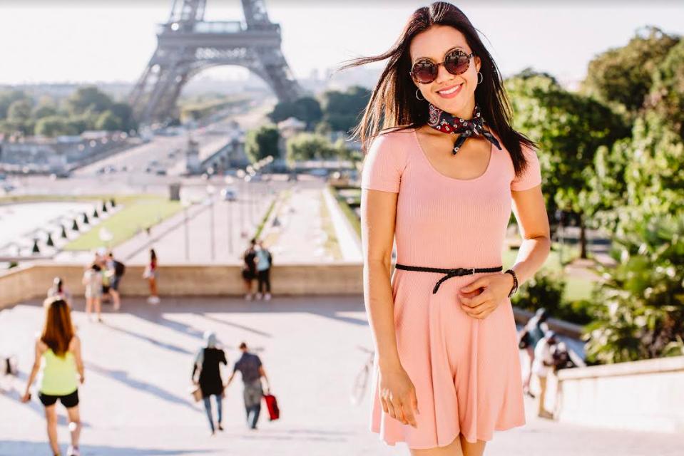 Olga in Paris for Flytographer