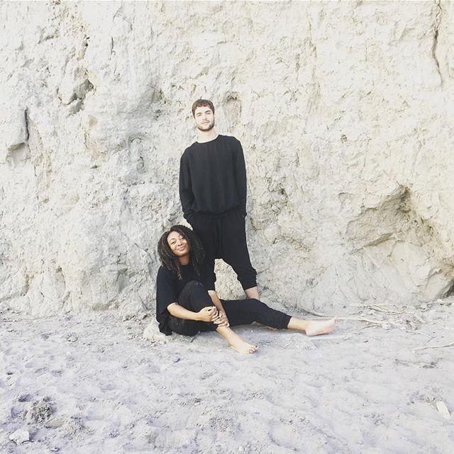 Smiling' & vibin' with @willsutter - designs courtesy of @shopcassandraelizabeth 📷: @nadaaahmed & @maleeha09. . . . . . #friendshipgoals #ethicalfashion #design #toronto #scarboroughbluffs #fentybeauty #blessed