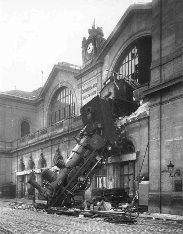 A classic train wreck - many ask - why did so few economists see this GFC train-wreck coming?