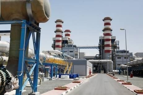 The Dh10 billion gas-fired M Station, which was opened yesterday, joins the other plants operated by the Dubai Electricity and Water Authority (Dewa) at Jebel Ali. Sarah Dea / The National. http://www.thenational.ae/news/uae-news/uae-s-largest-power-and-desalination-plant-opens-at-jebel-ali#ixzz2j77EUHWJ