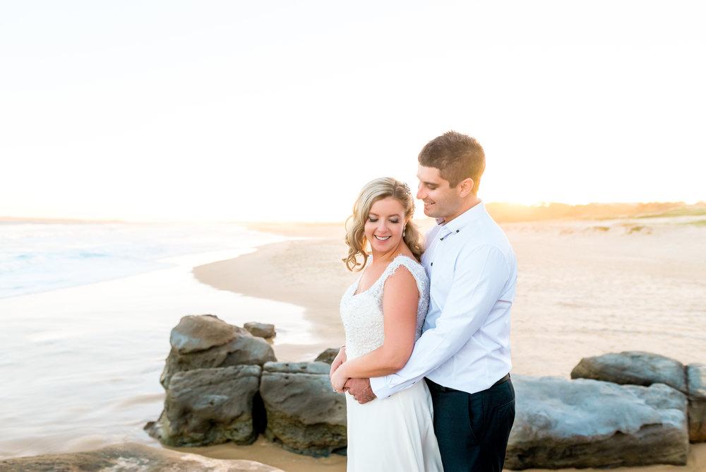 Redhead Beach Wedding