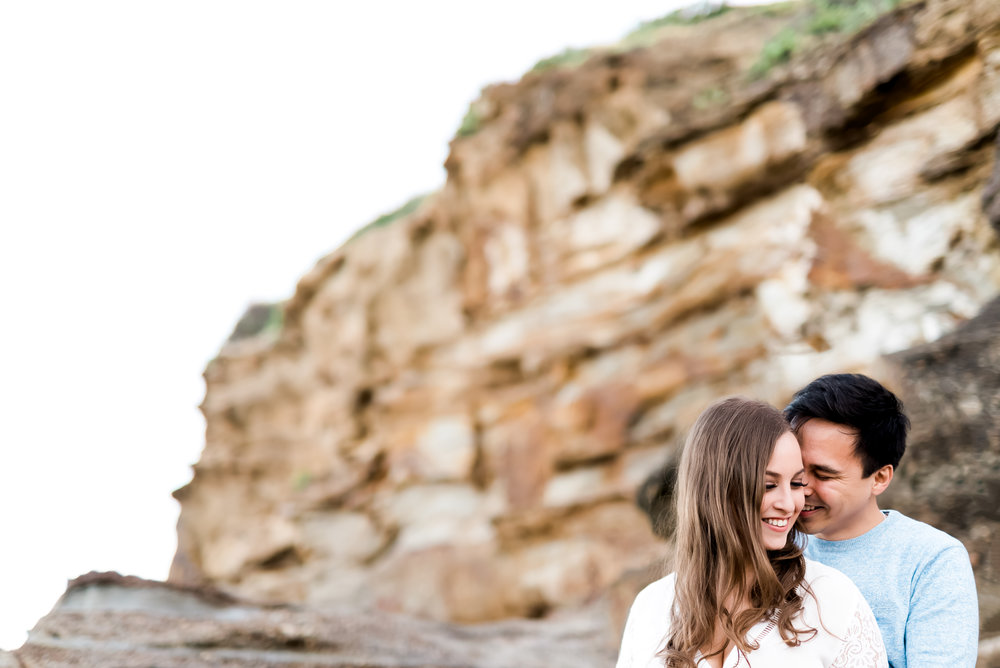 Caves Beach Engagement Session