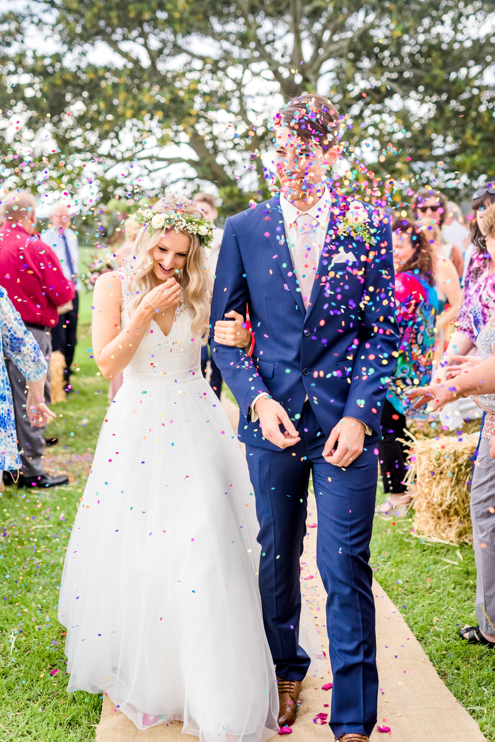 - That moment the boys think its a good idea to throw an entire bucket of confetti at your face...