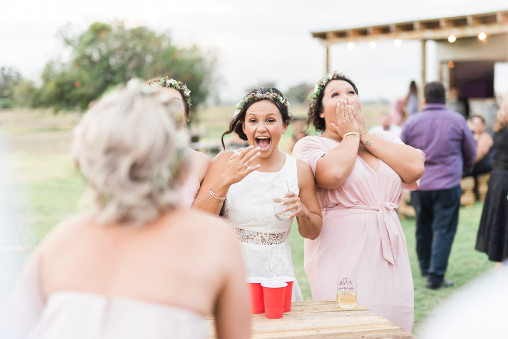 - The moment the girls realised they had won a very intense game of beer pong...