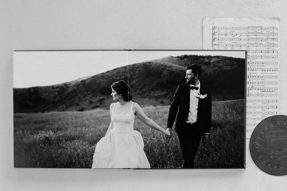 Fine Art Wedding Albums - We believe a wedding album is one of the most valuable creations that you can take away from your wedding! They will be treasured by your children and grandchildren to come.All of our albums are made with the highest quality, archival inks, flush mount designs and fine art paper.They all come with 50 pages which allows you to include your favourite images. Hand crafted archival fine art albums start at $1250.