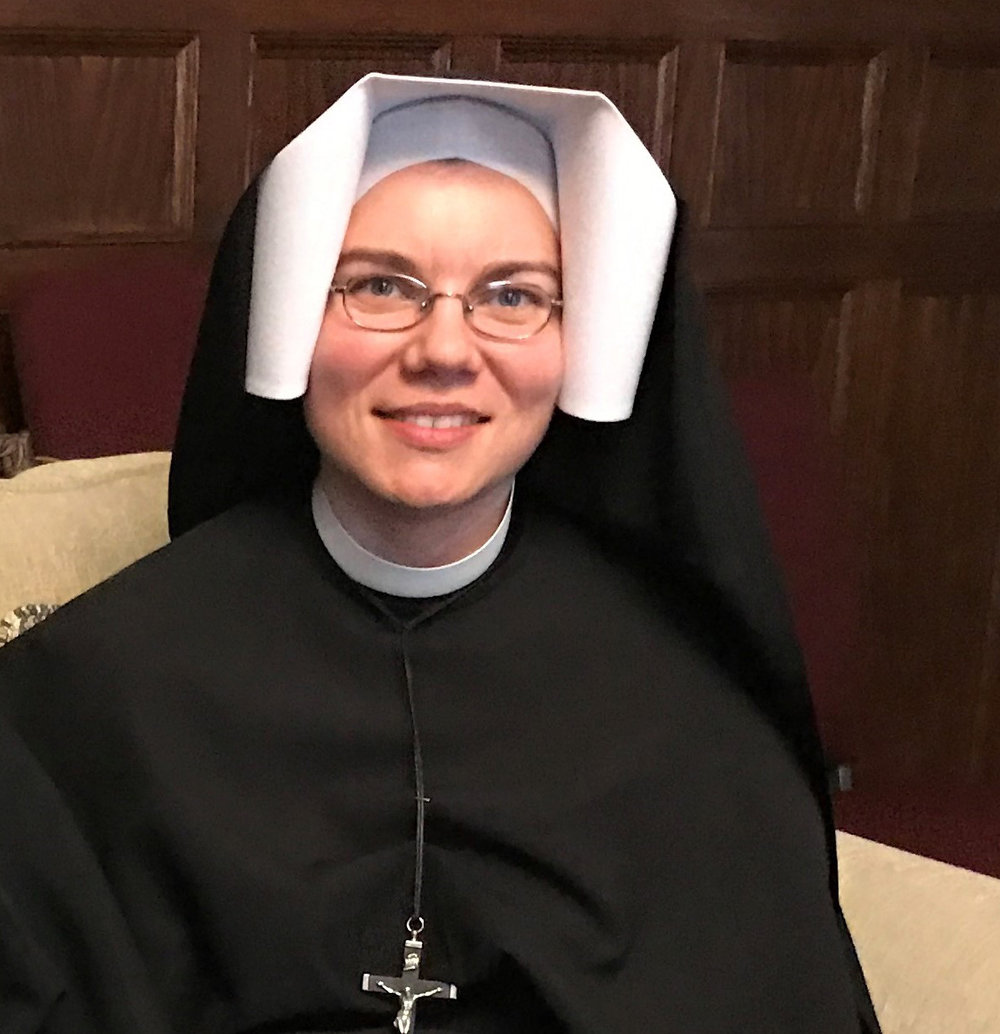 "Sr. Donata Farbaniec - Congregation of Our Lady of Mercy""Music which flows from a praying heart!"""