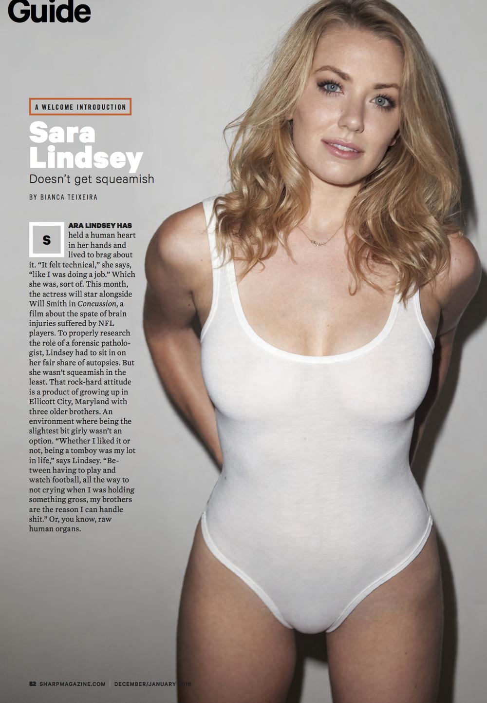 Sara Lindsey | SHARP Magazine
