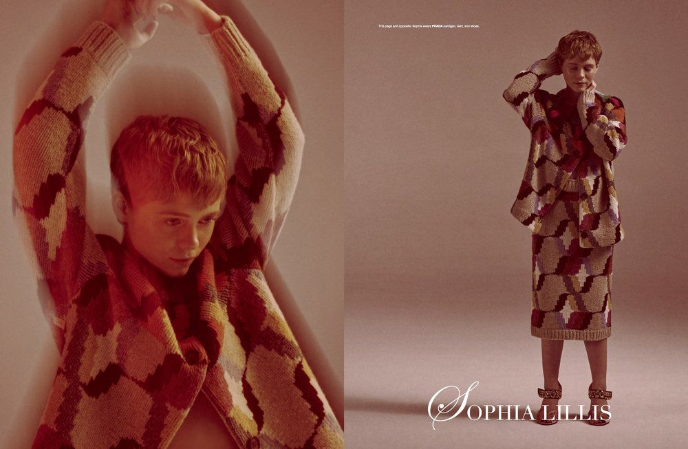 Sophia Lillis / Flaunt Magazine