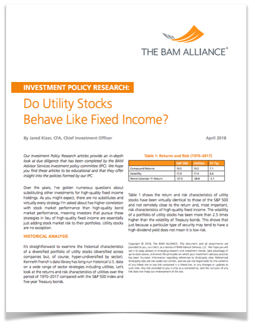 Do Utility stocks Behave like Fixed Income COVER.png