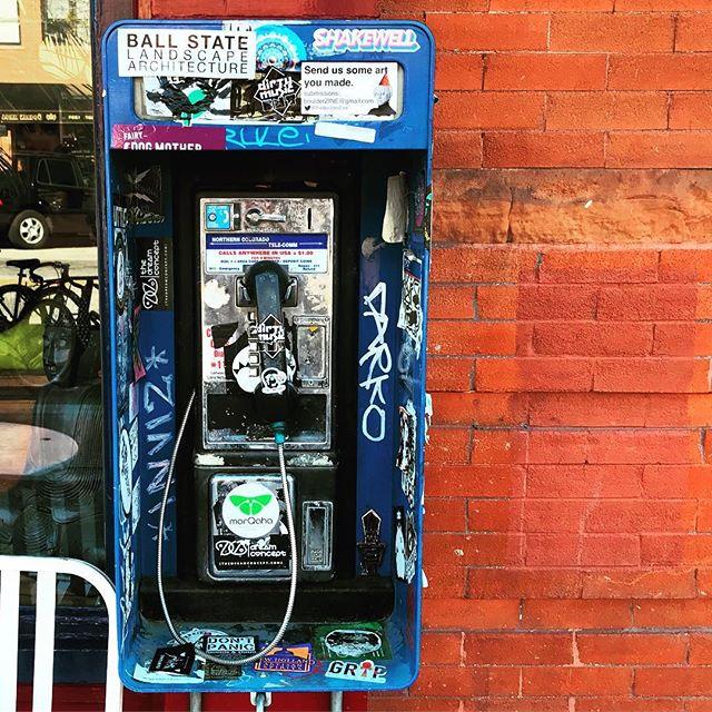 #oldschool #payphoneography  #ihaveathingforwalls #wallswallswalls #nowhearthis #phonehome