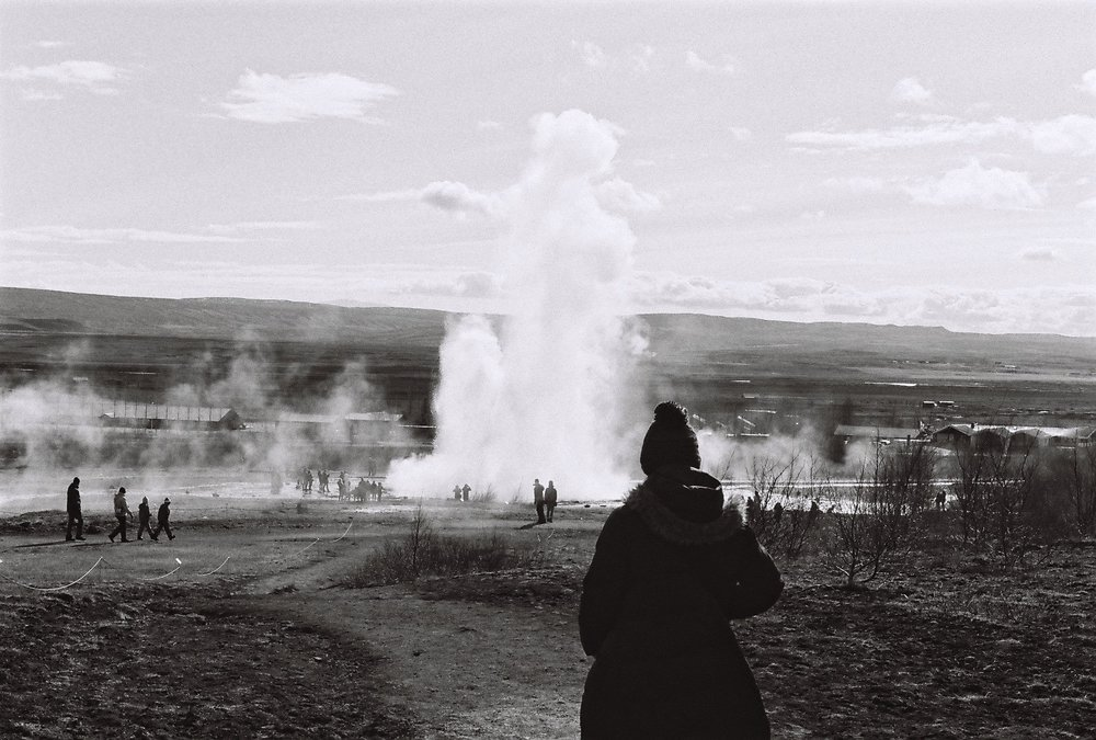 Photo by Nina Corcoran; Geysir, Iceland