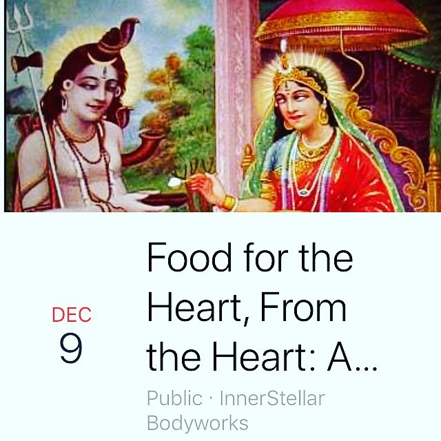 Food drive and singing??!! I can't wait!  Join us December 9th for a kirtan food drive. It is free to attend, and you are welcome to bring non-perishable food items that will be donated to the Oregon Food Bank. For details on what to bring and where to be, look for this event on Facebook, or send me a message. I'm so excited to share my studio with all your lovely hearts and voices. Happy Day of Gratitude!!