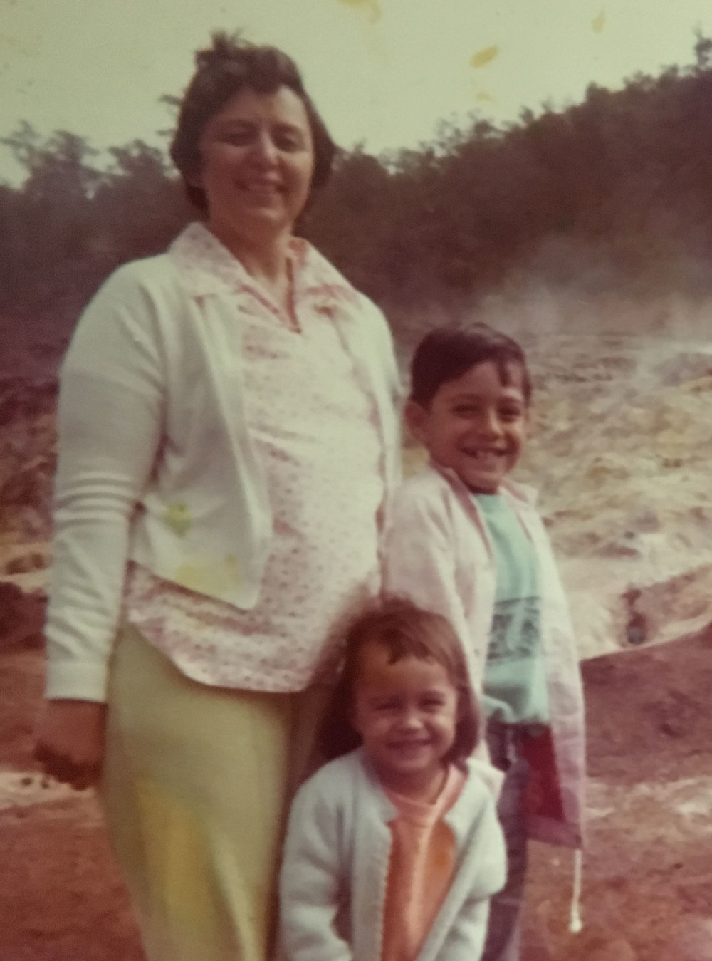 Sue w/ Mother Patricia and Brother Bill