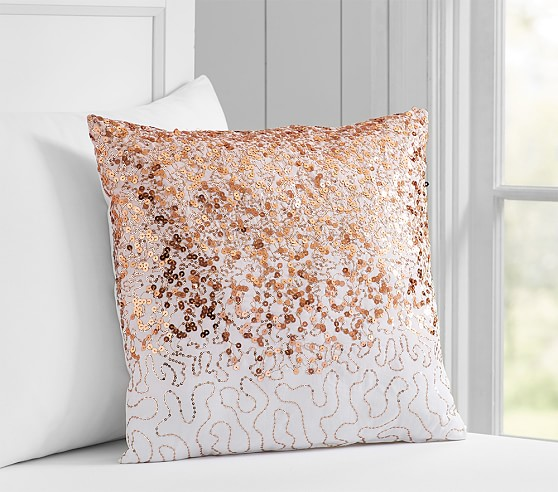Sequin Decorative Pillow - 14x14inches
