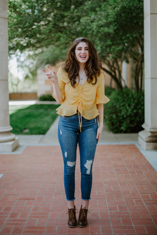 Claudia | Dallas, TX — Everglow: Portraits by Megan