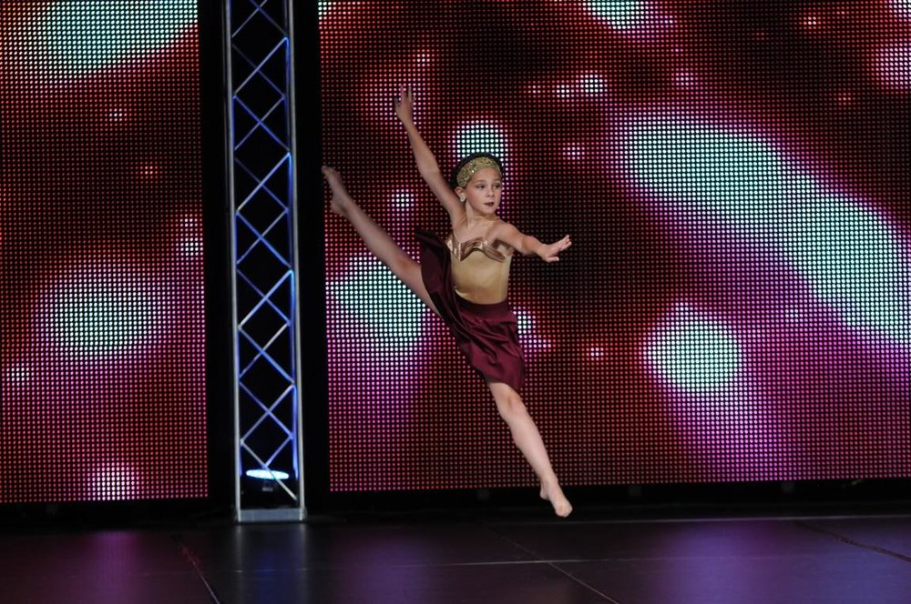 Lucy Burton at Showstopper Dance Championships