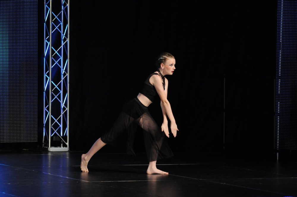 Zada Sudduth at Showstopper Dance Championships