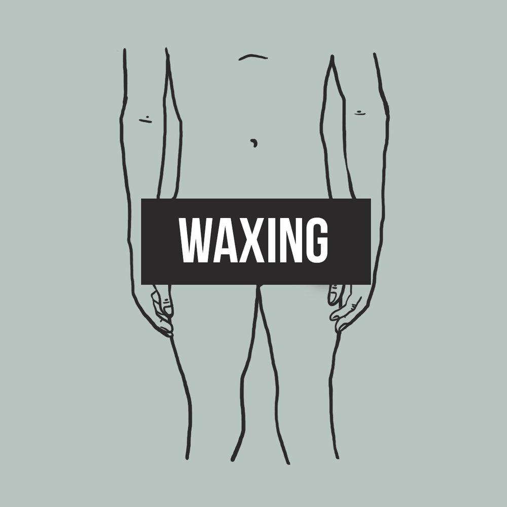 WAXING DOWNSTAIR.JPG