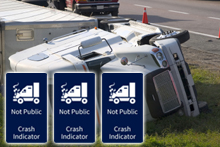 Commercial Trucking Crash indicator